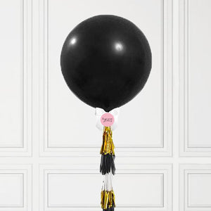 Black Jumbo Balloon