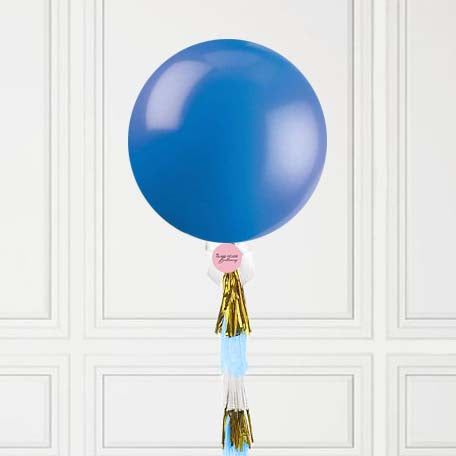 Blue Jumbo Balloon