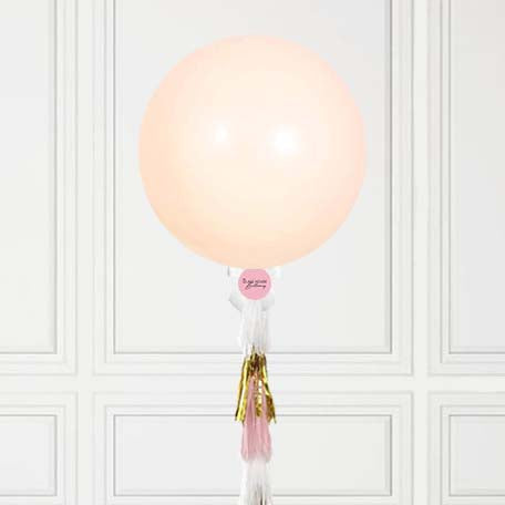 Peach Jumbo Balloon