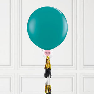 Teal Jumbo Balloon