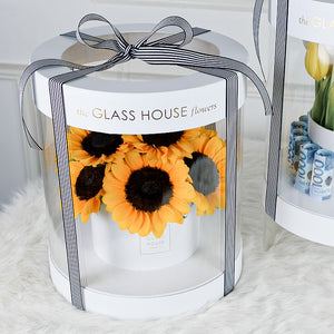 Sunflowers - White Amour Box