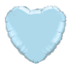 Light Blue Heart 18""
