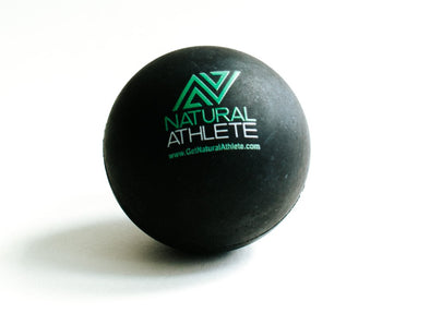 Natural Athlete Rubber Massage Ball (Lacrosse Sized)