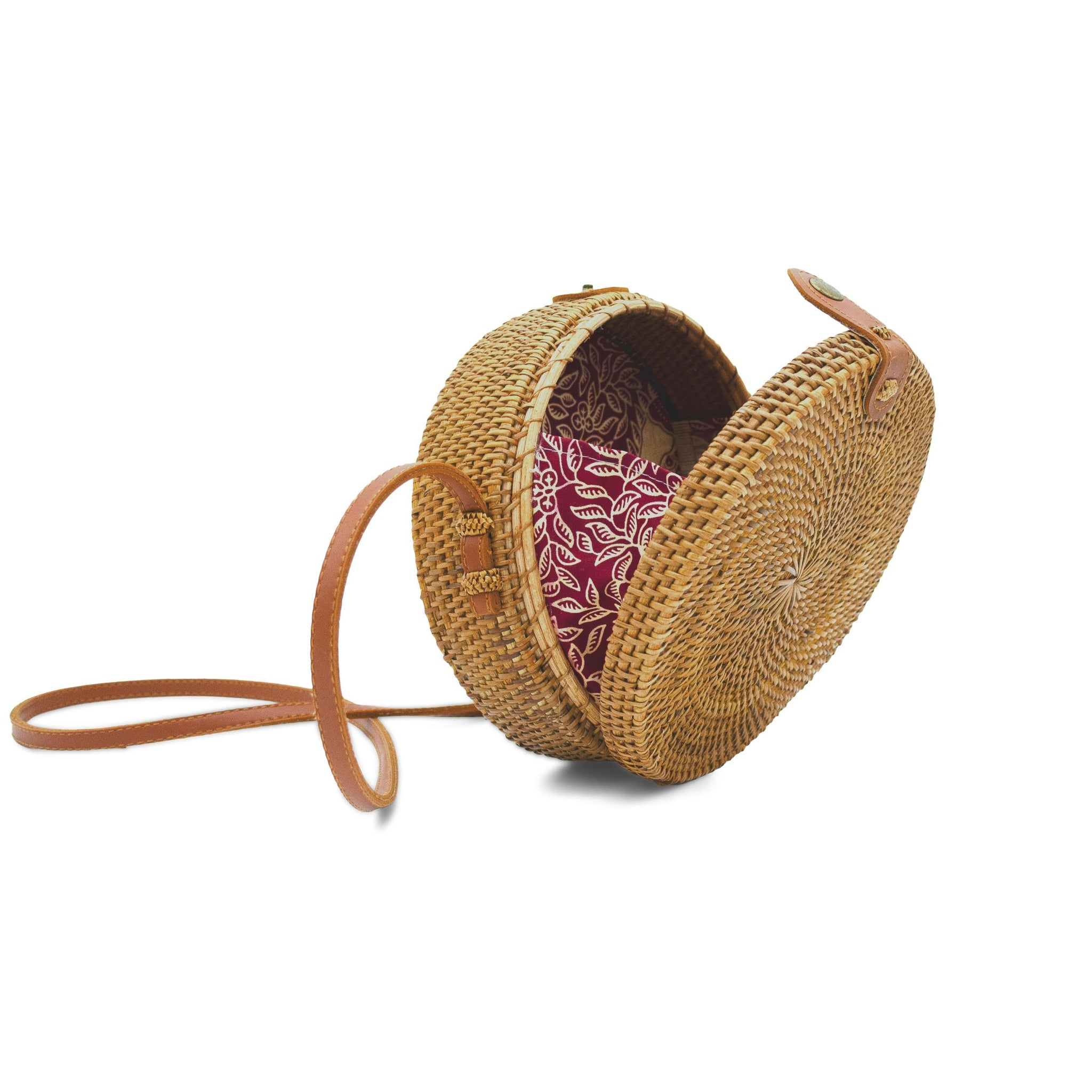 Rattan Bag (Medium) - Circa - Ulu Bags