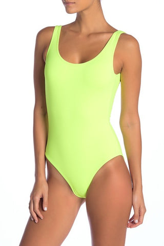 Onia Kelly One Piece Neon Yellow