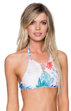 B. SWIM LANI PALM ISLAND HI-NECK