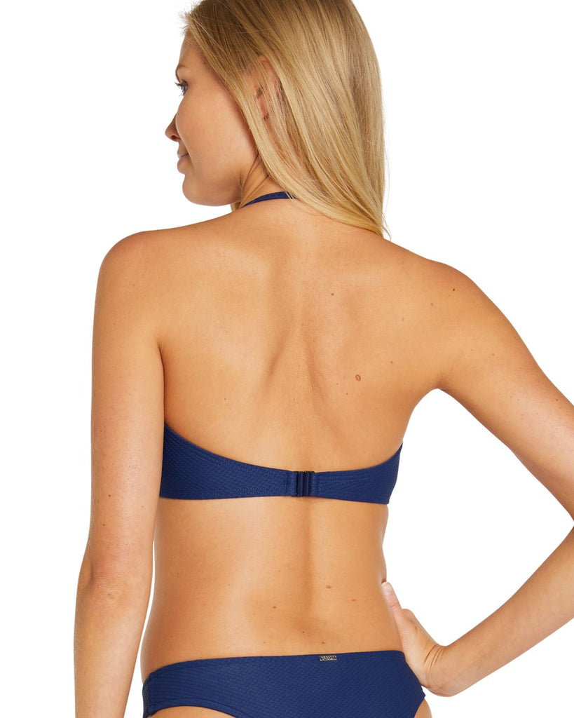 BAKU ROCOCCO MULTI FIT BANDEAU BIKINI TOP NERO