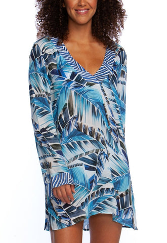 La Blanca Two Cool V-Neck Tunic