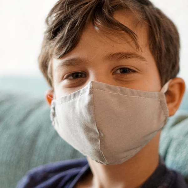 Prevent mask mouth in kids