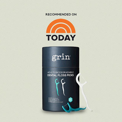 grin natural plastic-free dental floss today show