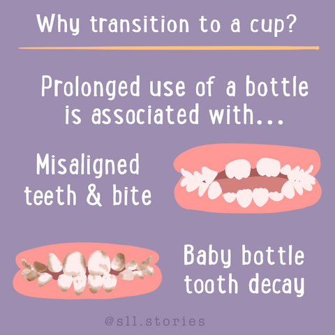 Transitioning from a bottle to cup when, why, how kids oral care 2