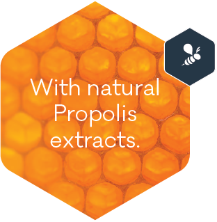 With natural Propolis extracts