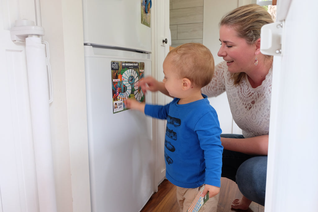 How do I take care of my toddler's mouth