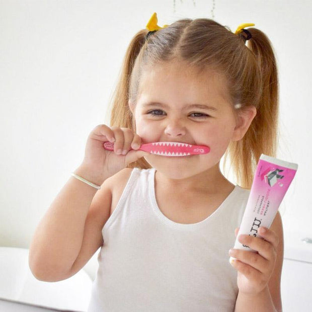 Grin Kids' Natural Fluoride-free Toothpaste Twin Pack-Grin Natural US