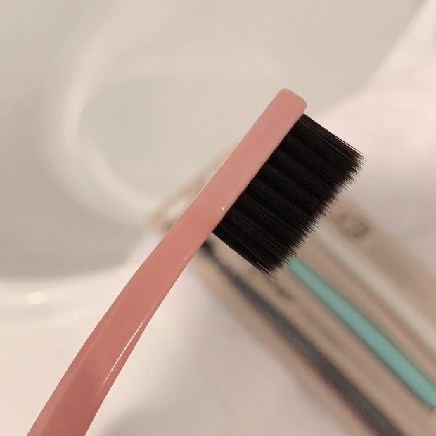 Grin Charcoal-Infused Bio Toothbrush - Rose Pink - GRIN - Grinnatural