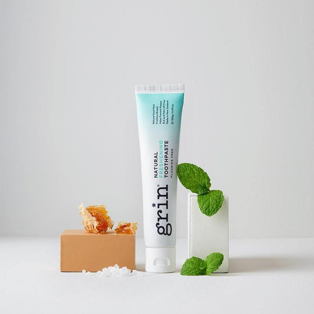 Grin Natural Freshening Fluoride-free Toothpaste 100g - GRIN - Grinnatural