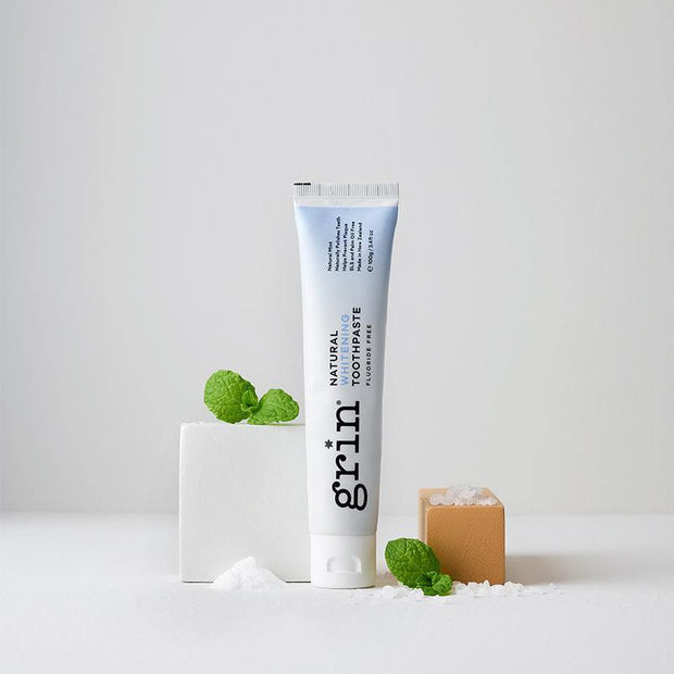 Grin Natural Whitening Toothpaste 100g - GRIN - Grinnatural