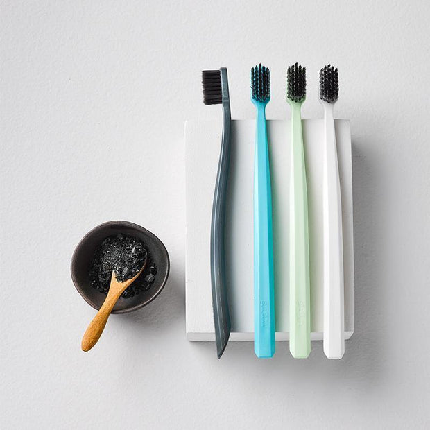 Grin Bio Toothbrush Four Pack Blue (Soft)-Grin Natural US