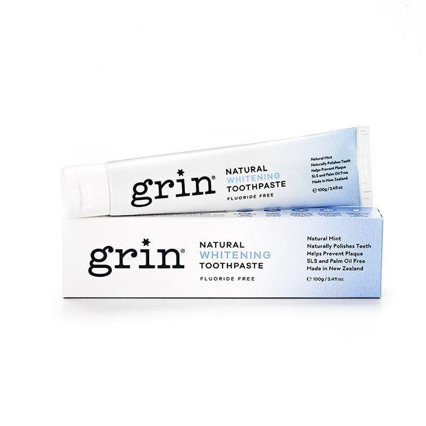 Grin Natural Whitening Toothpaste 100g - Grin Natural US