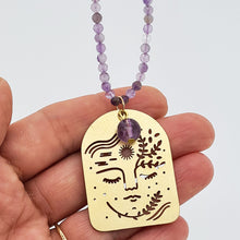 Load image into Gallery viewer, Amethyst Long Necklace