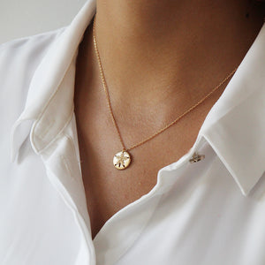 Delicate Sterling Silver 925 Goldplated Necklace