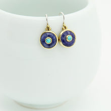 Load image into Gallery viewer, Bohème Chic Lapis lazuli Earrings
