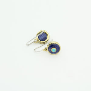Bohème Chic Lapis lazuli Earrings