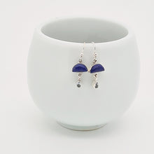 Load image into Gallery viewer, Lapis Lazuli & Silver Earrings
