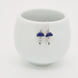Lapis Lazuli & Silver Earrings
