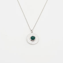 Load image into Gallery viewer, Green Onyx Sterling Silver 925 Necklace