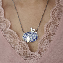 Load image into Gallery viewer, Delicate Patterns Silver Necklace