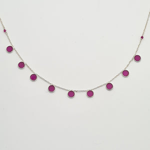 Ruby Silver 925 Necklace