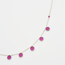 Load image into Gallery viewer, Ruby Silver 925 Necklace