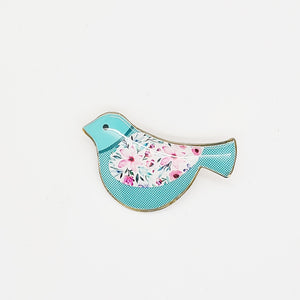 Caspian Bird Brooch