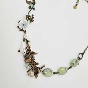 Romantic Natural Stones Necklace