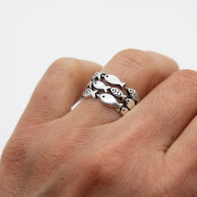 Load image into Gallery viewer, Amazing Silver Fish Ring - Yalda Concept Store Persan