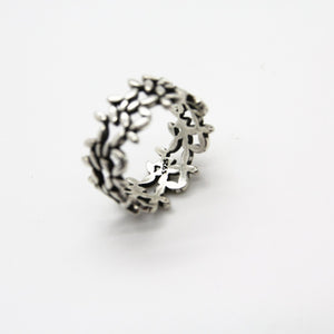 Amazing Silver Flower Ring - Yalda Concept Store Persan