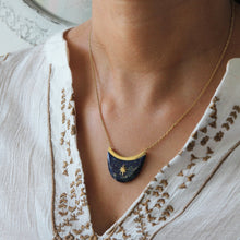 Load image into Gallery viewer, Anahid Lapis Lazuli Necklace - Yalda Concept Store Persan
