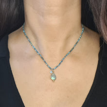 Load image into Gallery viewer, Apatite Stone Necklace
