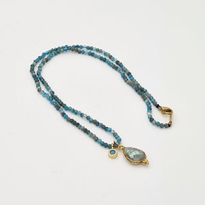 Apatite Stone Necklace