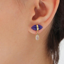 Load image into Gallery viewer, Bohème Chic Blue Earrings - Yalda Concept Store Persan