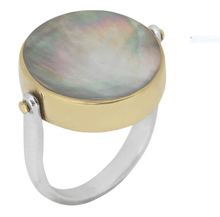 Load image into Gallery viewer, Bohème Silver Ring 2 Faces - Yalda Concept Store Persan