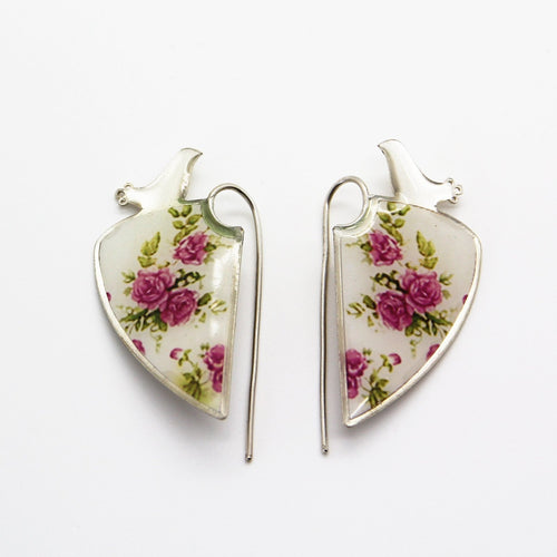 Delicate Flowers Earrings - Yalda Concept Store Persan