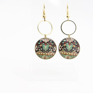 Delicate Patterns Earrings - Yalda Concept Store Persan