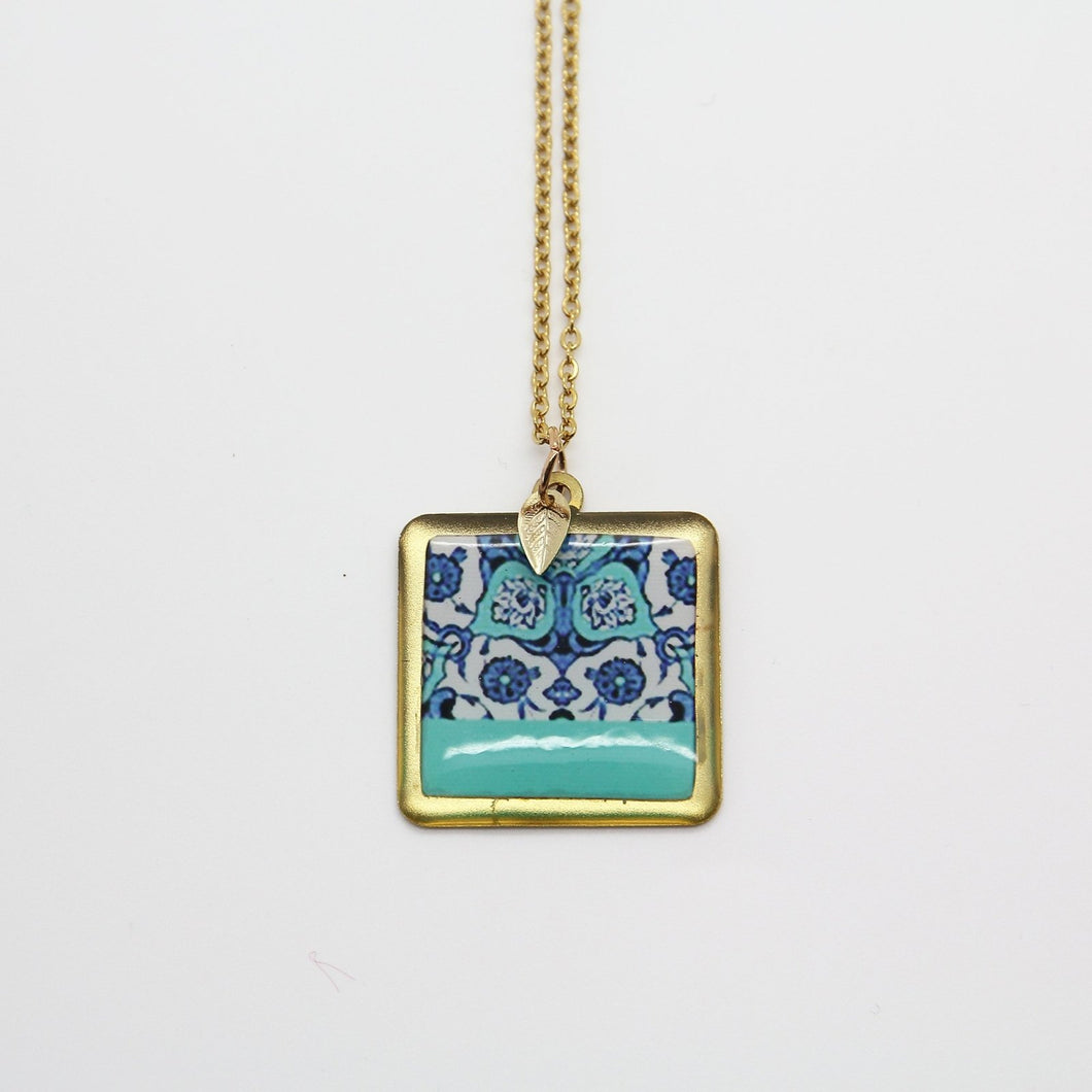 Delicate Patterns, Isphahan Necklace - Yalda Concept Store Persan