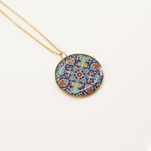 Delicate Patterns Necklace - Yalda Concept Store Persan