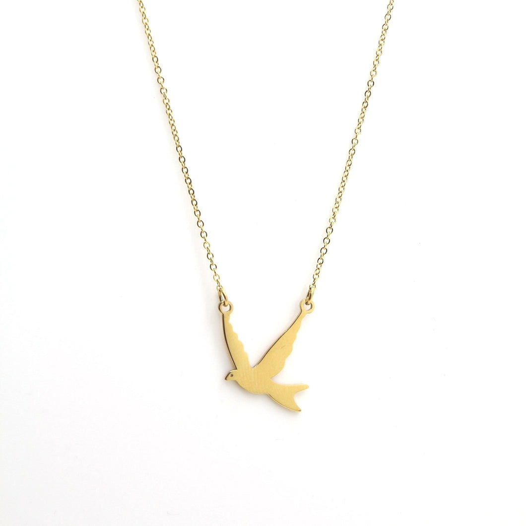 Diba Little Bird Necklace - Yalda Concept Store Persan