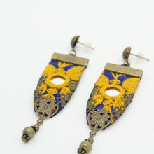 Load image into Gallery viewer, Fine Embroidered Earrings - Yalda Concept Store Persan