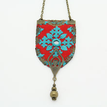 Load image into Gallery viewer, Fine Hand Embroidered Necklace