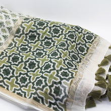 Load image into Gallery viewer, Green Scarf - Yalda Concept Store Persan